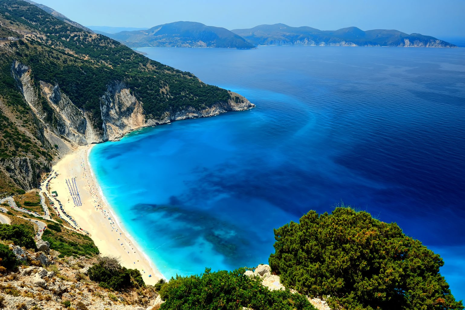 Road To Myrtos Beach